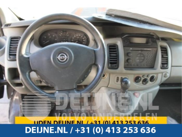 Display Interieur - Opel Vivaro