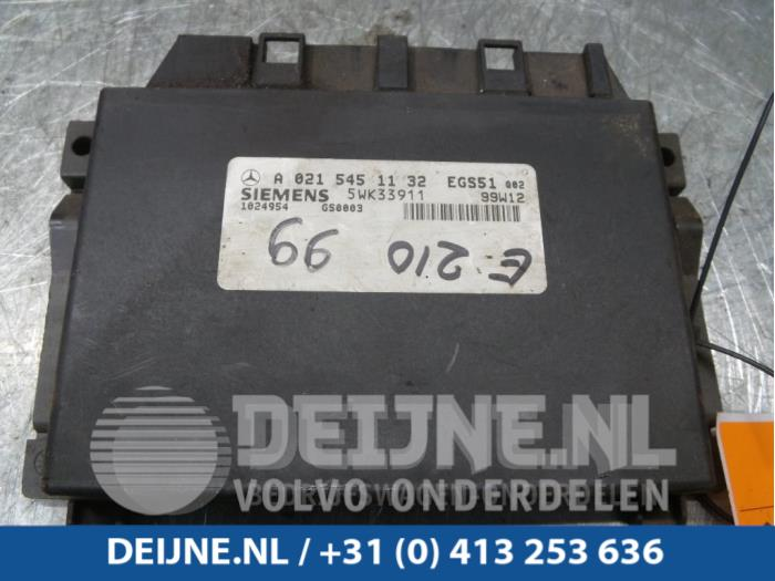 Computer Automatische Bak - Mercedes E-Klasse