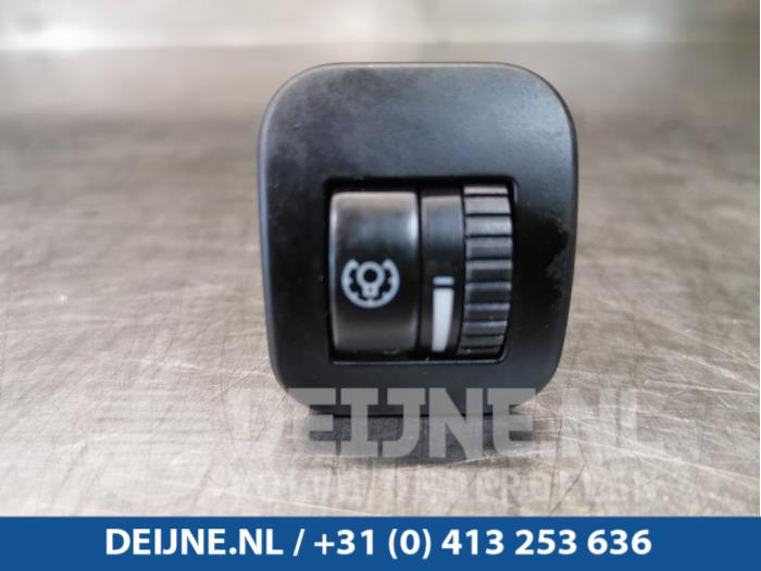 Cockpit dimmer - Porsche Cayenne