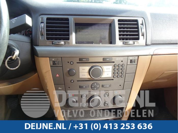 Radiobedienings paneel - Opel Vectra