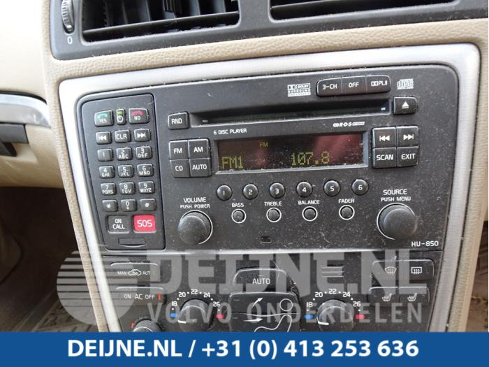 Display Multi Media regelunit - Volvo XC70