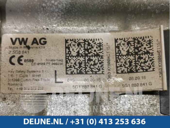 Airbag knie links - Volkswagen Golf