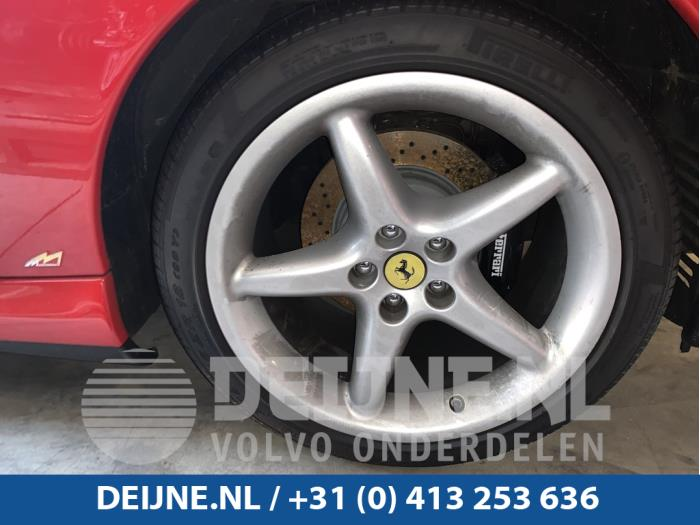 Remklauw (Tang) rechts-achter - Ferrari 550