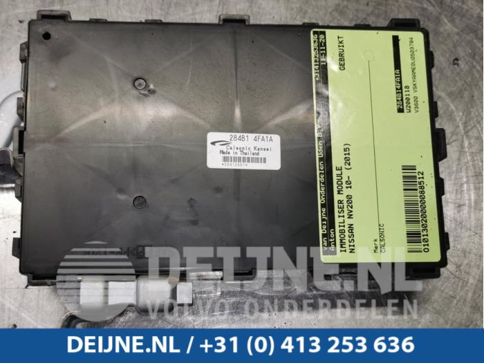 Immobiliser module - Nissan NV200