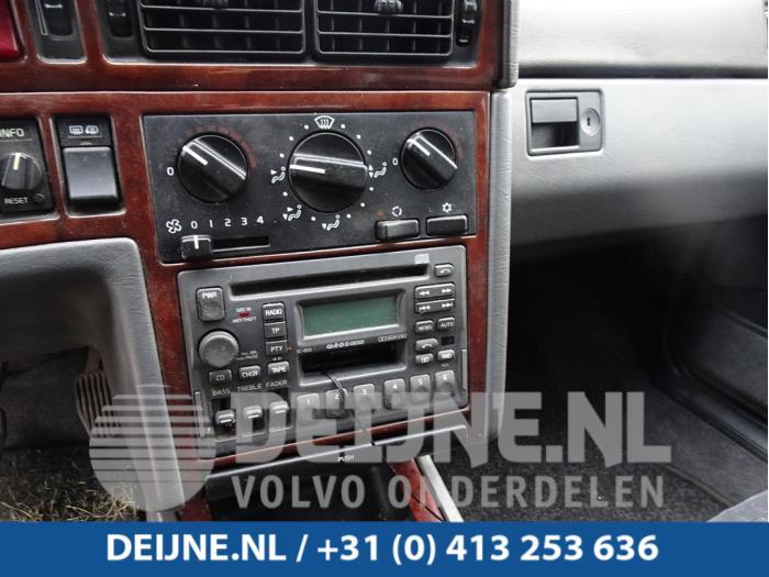 Kachel Bedieningspaneel - Volvo 850