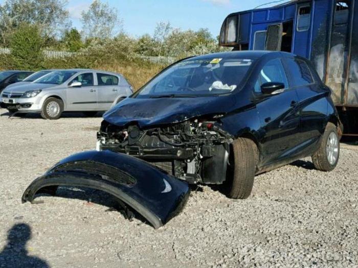 Renault Zoe Ag R90 Sloop Bouwjaar 2016 Kleur Zwart
