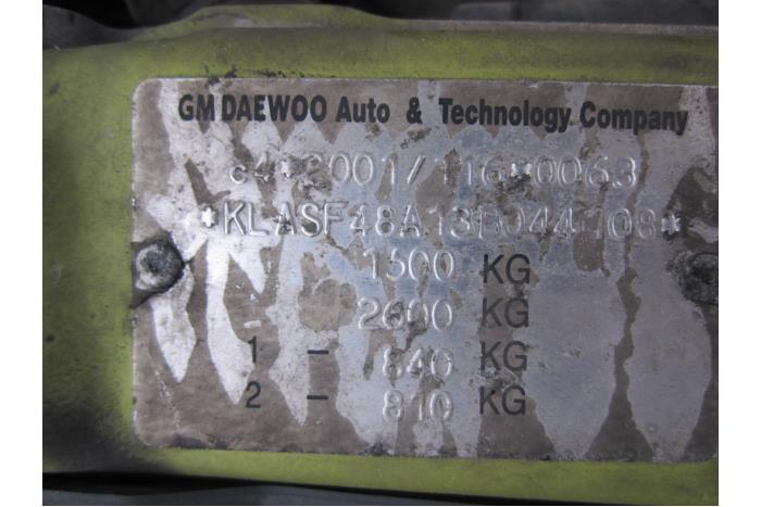 Daewoo Kalos (SF69) 1.4 16V