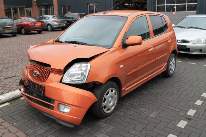kia picanto ba 1 1 12v sloop bouwjaar 2006 kleur oranje. Black Bedroom Furniture Sets. Home Design Ideas