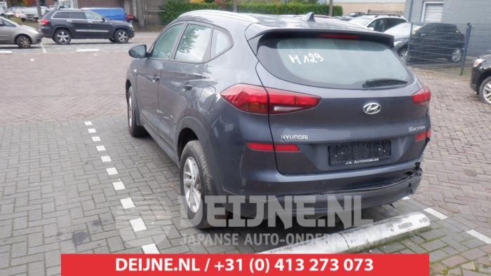 Hyundai Tucson 1.6 GDi 16V 2WD Sloopvoertuig (2019, Grijs)