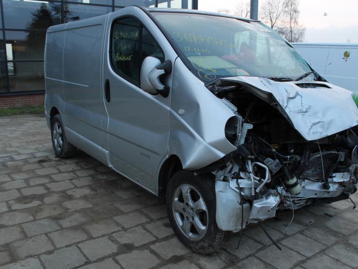 Bumperdeel midden-achter - Renault Trafic