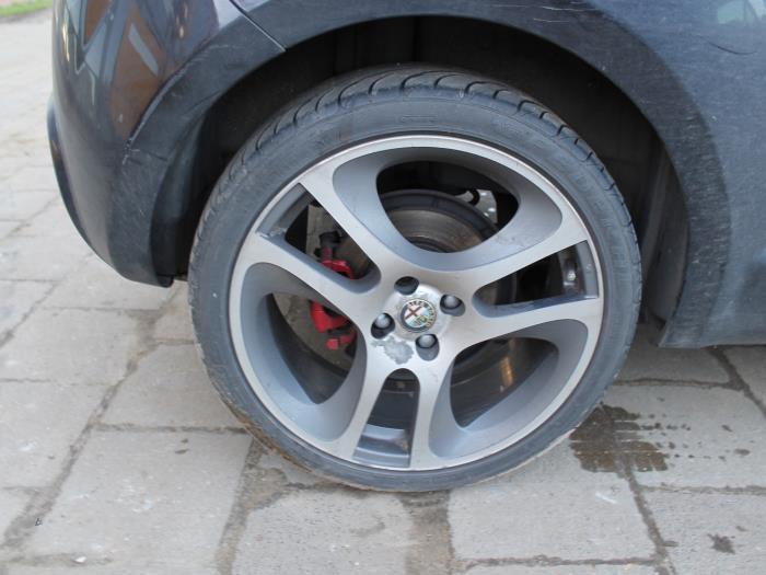 Ruit 2Deurs rechts-achter - Alfa Romeo Mito