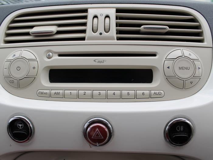 Slotenset Cilinder (compleet) - Fiat 500