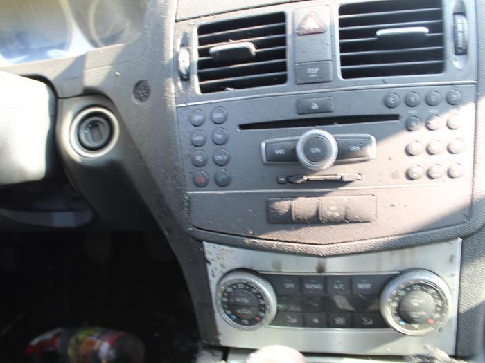 Ruit achter - Mercedes C-Klasse