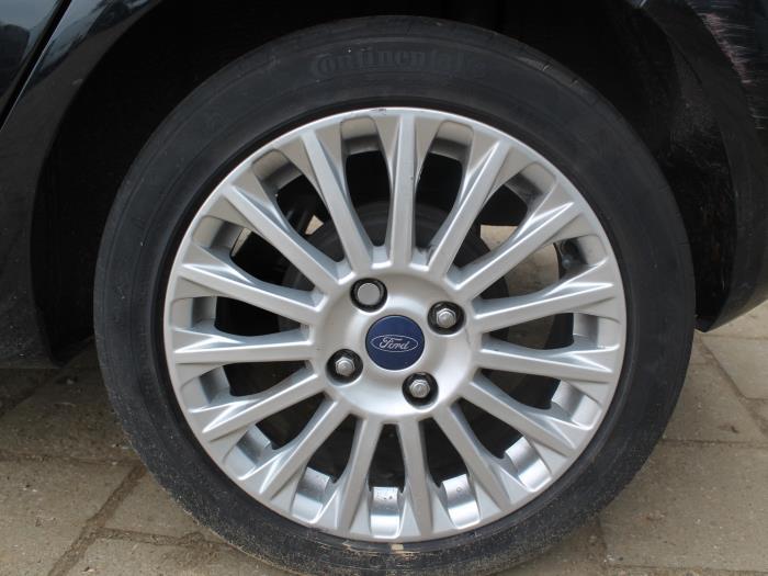 Portierruit 4Deurs rechts-achter - Ford Fiesta