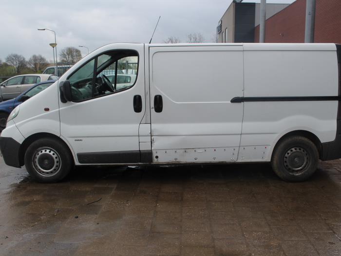 Veiligheidsgordel Insteek links-voor - Opel Vivaro