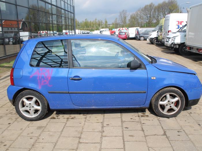 Achteras voorwielaandrijving - Volkswagen Lupo