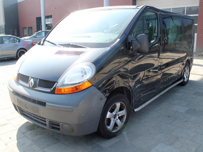 Bumperframe achter - Renault Trafic