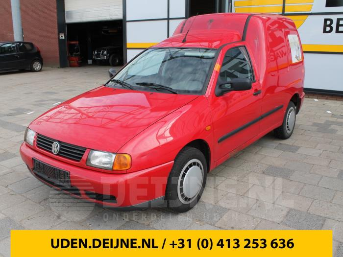 Portierrubber 2Deurs links - Volkswagen Caddy