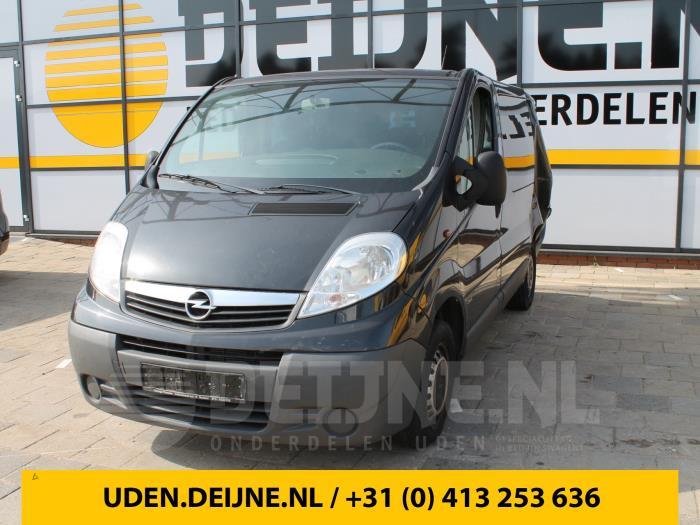 Dubbele cabine - Opel Vivaro