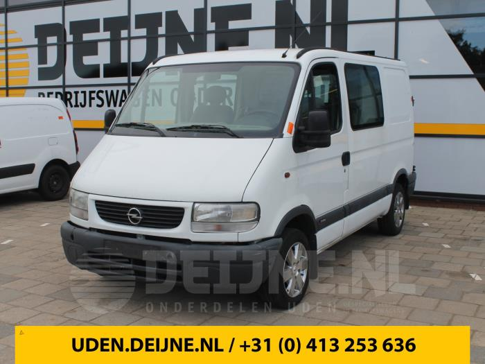 Dubbele cabine - Opel Movano