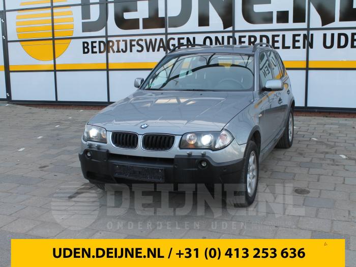 Instrumentenpaneel - BMW X3
