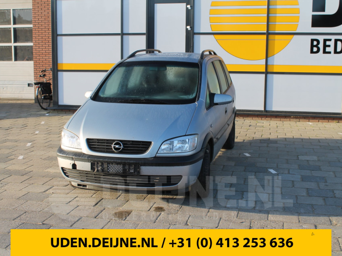 Deurslot Mechaniek 4Deurs links-achter - Opel Zafira