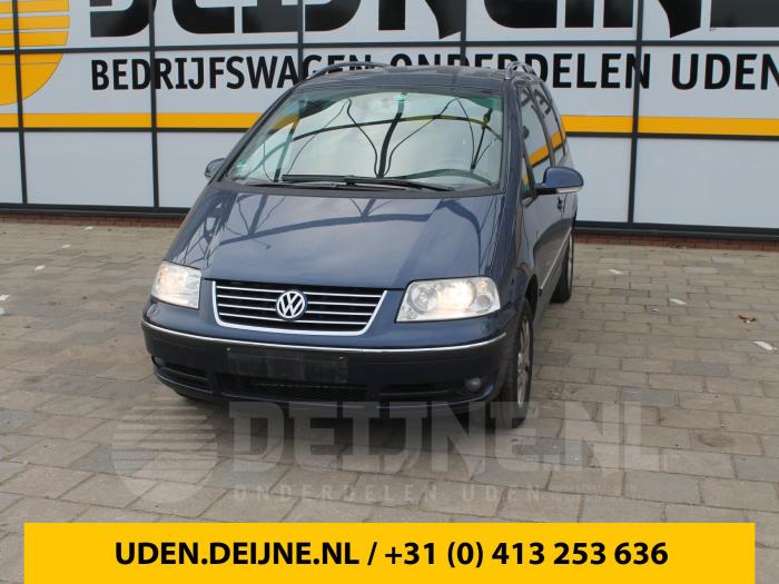 Dekzeil Bagageruimte - Volkswagen Sharan