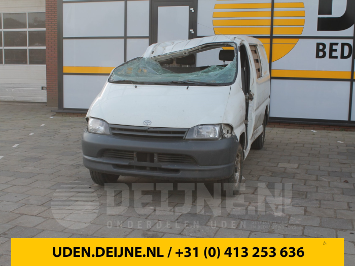 Differentieel achter - Toyota Hiace