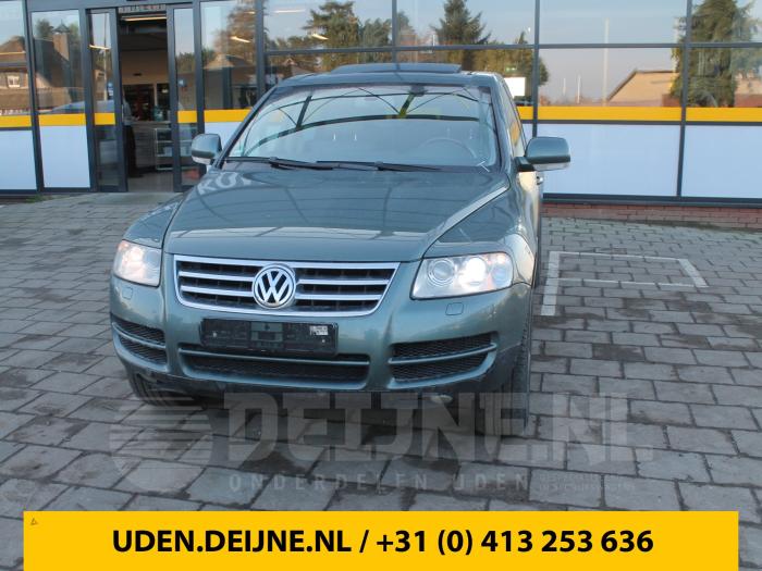 Schokdemperpoot rechts-achter - Volkswagen Touareg