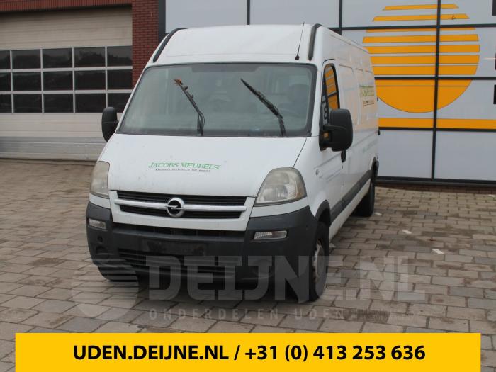 Tankvlotter - Opel Movano