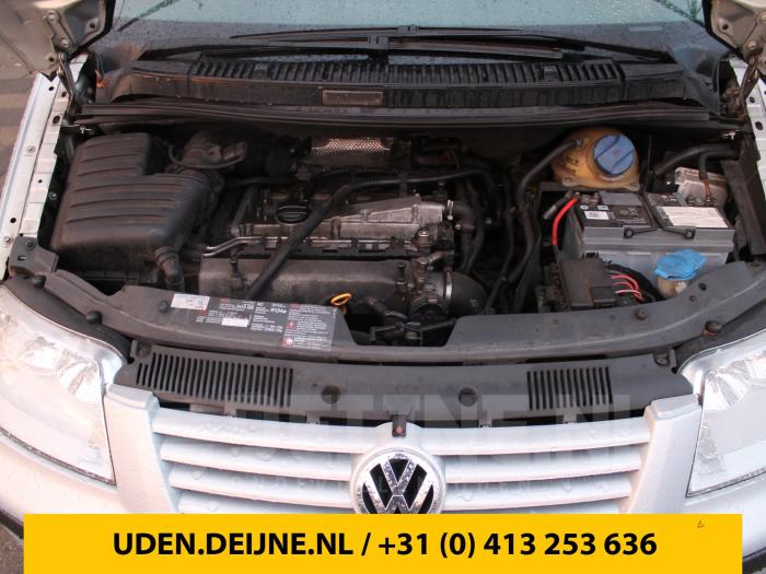 Deurslot Mechaniek 4Deurs rechts-achter - Volkswagen Sharan