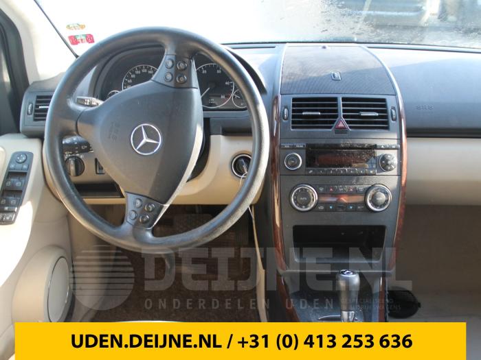 Dekzeil Bagageruimte - Mercedes A-Klasse
