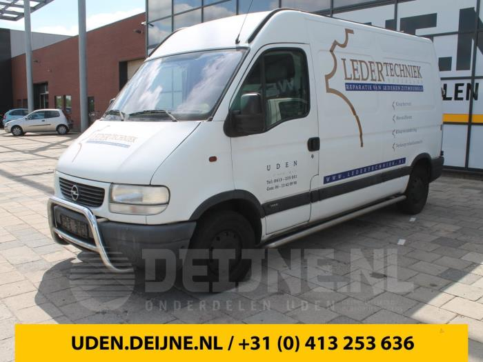 Bumperdeel links-achter - Opel Movano