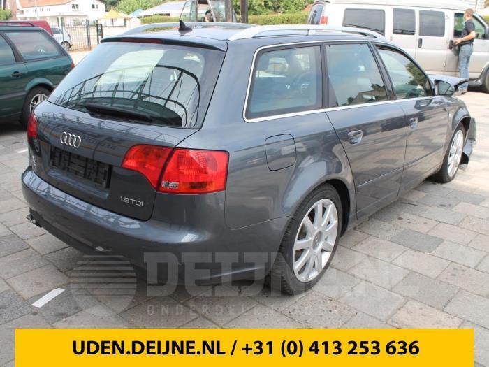 Dekzeil Bagageruimte - Audi A4
