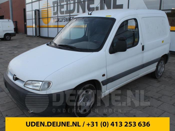 Achteras voorwielaandrijving - Peugeot Partner
