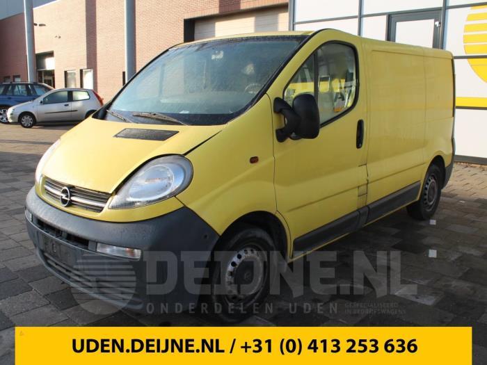 Bumperdeel links-achter - Opel Vivaro