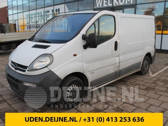Slotmechaniek achterdeur Bus-Bestel - Opel Vivaro