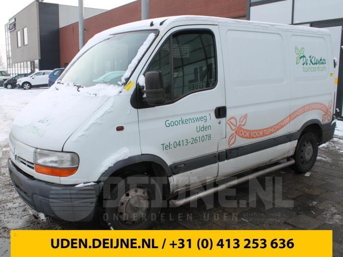 Slotmechaniek achterdeur Bus-Bestel - Renault Master