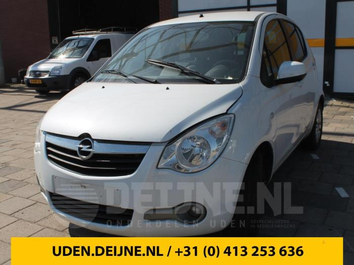 Thuiskomer - Opel Agila