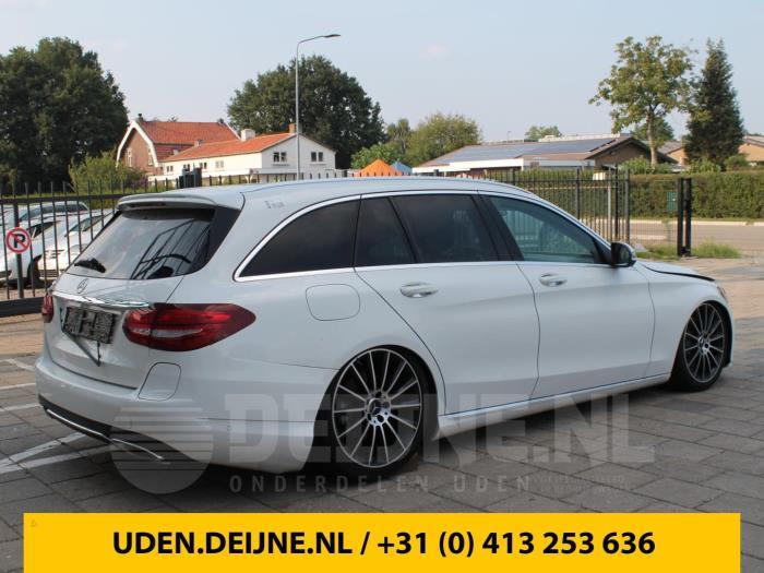 Spoiler voorbumper - Mercedes C-Klasse