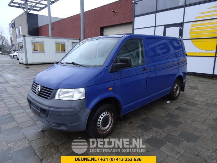 Deurslot Mechaniek 4Deurs links-achter - Volkswagen Transporter