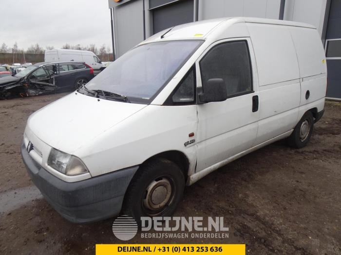 Deurslot Mechaniek 2Deurs links - Citroen Jumpy