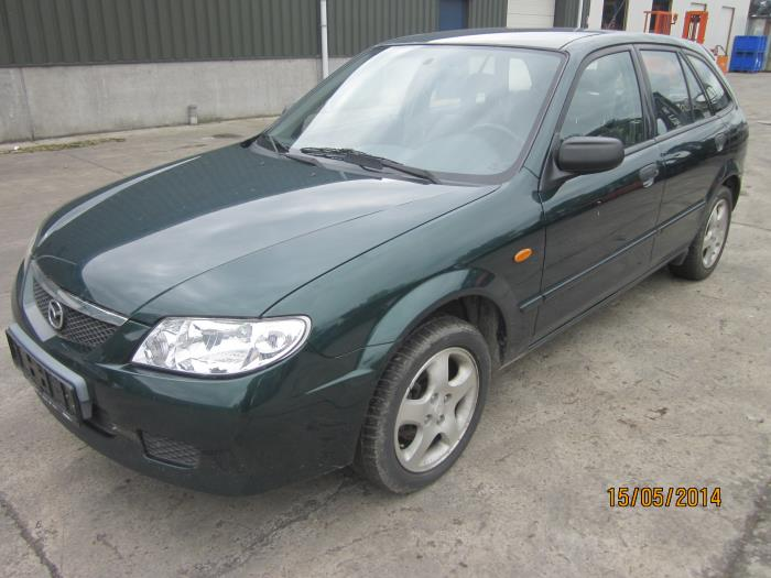 Mazda 323 Fastbreak (BJ14) 2.0 DiTD 16V 2002 Uitlaat gasklep (EGR) (klik op de afbeelding voor de volgende foto)