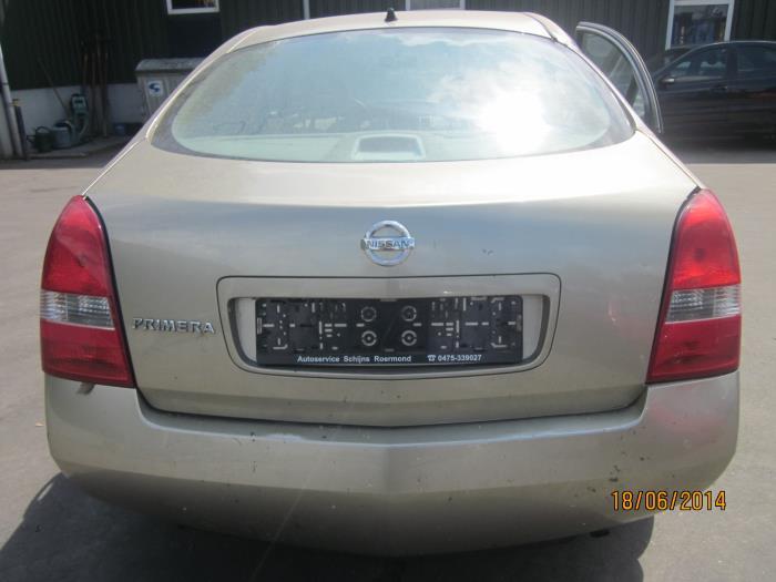 Nissan Primera (P12) 1.6 16V (klik op de afbeelding voor de volgende foto)  (klik op de afbeelding voor de volgende foto)  (klik op de afbeelding voor de volgende foto)  (klik op de afbeelding voor de volgende foto)