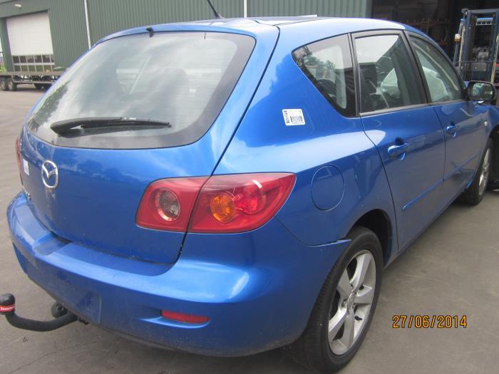 Mazda 3 Sport (BK14) 1.6 CiTD 16V 2005 Slotmechaniek Portier 4Deurs links-achter (klik op de afbeelding voor de volgende foto)