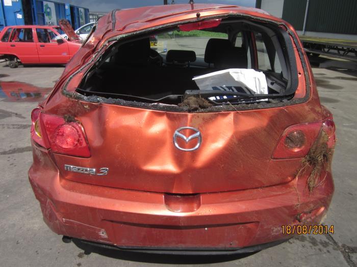 Mazda 3 Sport (BK14) 1.3i 16V 2004 Display Climat Control (klik op de afbeelding voor de volgende foto)