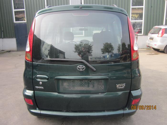 Toyota Yaris Verso (P2) 1.4 D-4D (klik op de afbeelding voor de volgende foto)  (klik op de afbeelding voor de volgende foto)  (klik op de afbeelding voor de volgende foto)  (klik op de afbeelding voor de volgende foto)