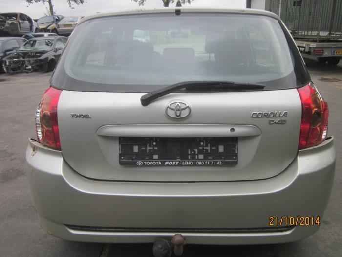 Toyota Corolla (E12) 1.4 D-4D 16V 2007 Instrumentenpaneel (klik op de afbeelding voor de volgende foto)