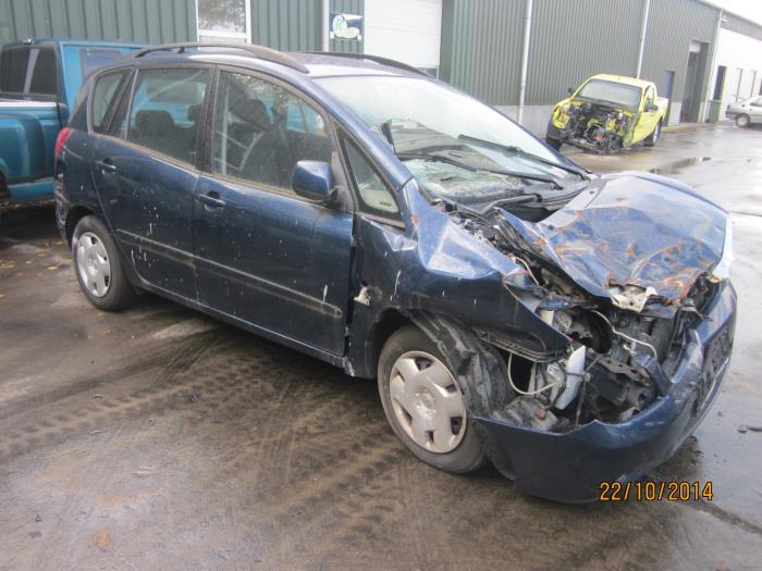 Toyota Corolla Verso (E12) 2.0 D-4D 16V 90 (klik op de afbeelding voor de volgende foto)  (klik op de afbeelding voor de volgende foto)  (klik op de afbeelding voor de volgende foto)  (klik op de afbeelding voor de volgende foto)  (klik op de afbeelding voor de volgende foto)  (klik op de afbeelding voor de volgende foto)  (klik op de afbeelding voor de volgende foto)
