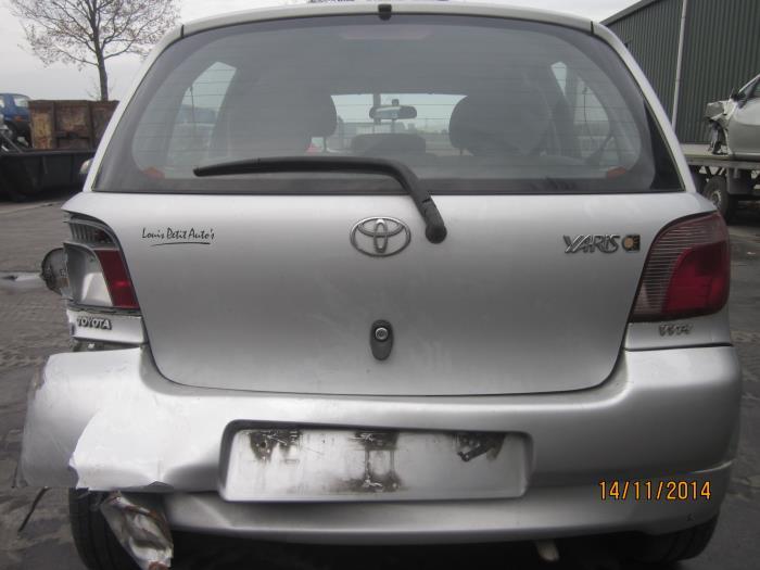 Toyota Yaris (P1) 1.3 16V VVT-i (Klicken Sie auf das Bild für das nächste Foto)  (Klicken Sie auf das Bild für das nächste Foto)  (Klicken Sie auf das Bild für das nächste Foto)  (Klicken Sie auf das Bild für das nächste Foto)